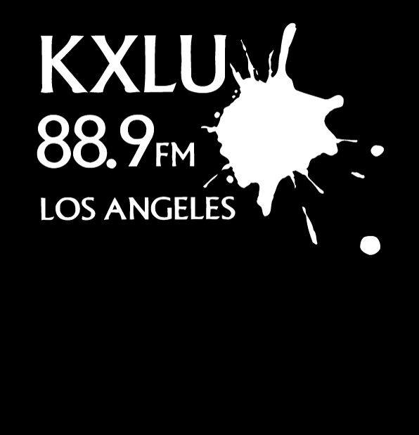 $35 Donation - KXLU T-Shirt Thank You Gift with Embroidered KXLU Signature Logo