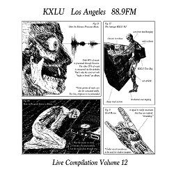 $35 Donation - KXLU Live Compilation Vol. 12 Vinyl Record Thank You Gift